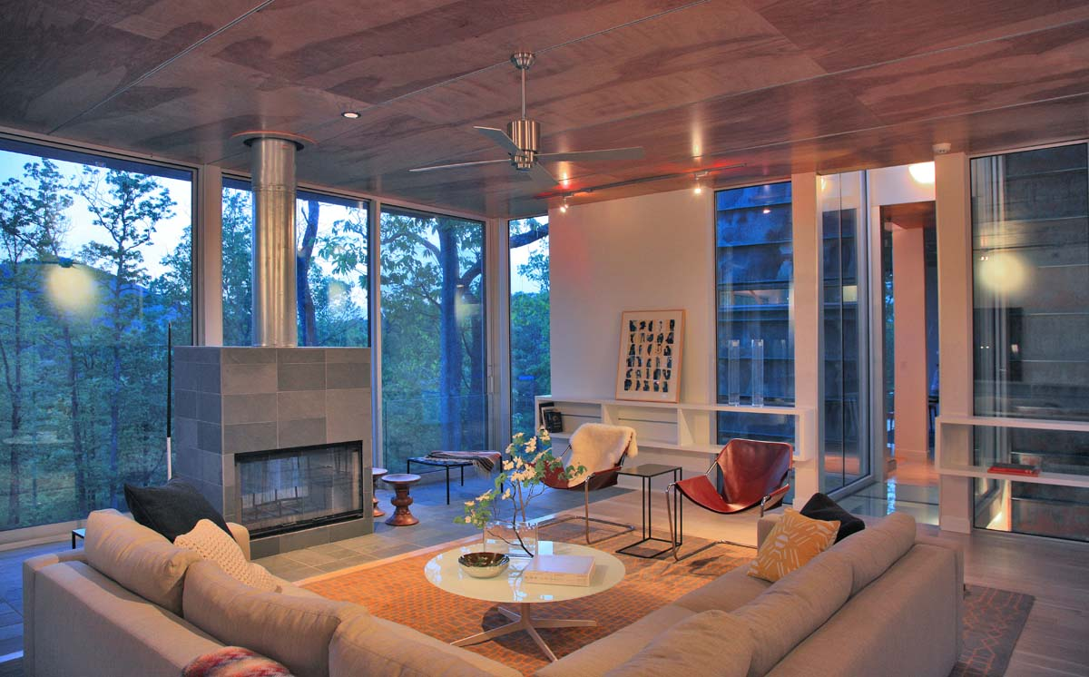 Bruneel Residence - Cole Interiors - TPrice Architects_12
